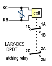 Amazing Bistable Dpdt Latching Relay With Terminal Blocks Wiring Cloud Hisonuggs Outletorg