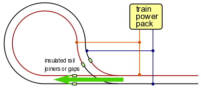 Dcc Model Railway Wiring Diagrams: Automate model railroad reverse loops for DC DCC or ACrh:azatrax.com,Design